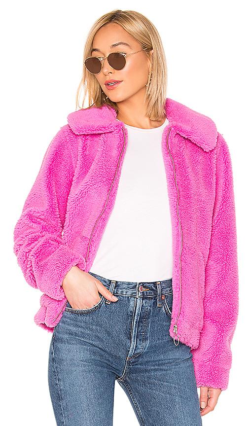 Lovers + Friends Nyla Jacket En Fuchsia Pink