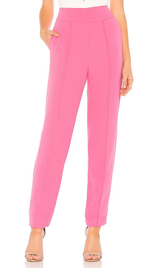 Lovers + Friends Pantalon Classique Giada En Barbie Pink