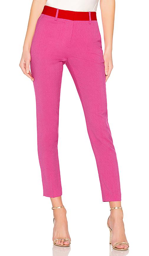 Msgm Pantalon En Hot Pink