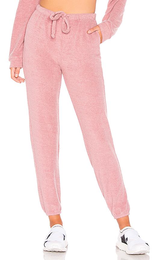 Year Of Ours Pantalon Boyfriend En Desert Pink